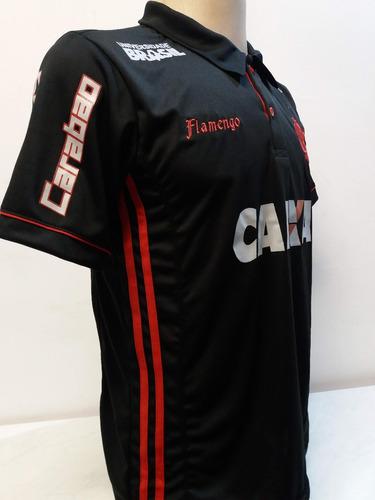 be65efdaa0 Camisa Polo Flamengo Preta Lançamento Especial 2018 - R  96 en ...