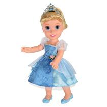 Boneca Minha Primeira Princesa Disney Cinderela Frete Grátis