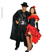 Fantasia Zorro Ou Espanhola Em Promoção