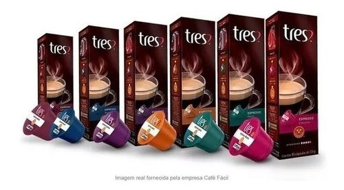 Cápsula De Café Três Corações Sabores - Kit Com 80 Unidades