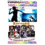 16 Dvds Coletânea Karaokê 2015 Sertanejo Pop Rock Atuais Cd