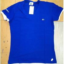 Kit 10 Camisetas Lakoste Feminina Viscose Gola V