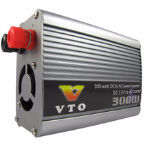 Conversor Inversor Veicular Dc 12v Para Ac 220v 300w