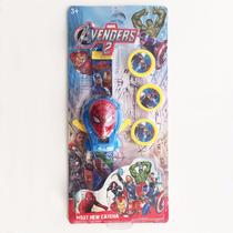 Relógio De Pulso Homem-aranha Infantil Spiderman