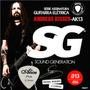 Cordas Guitarra 013 056 Sg Andreas Kisser 6671 + Palheta Aço