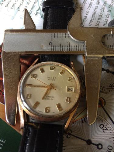 5408f0af0c9 Relógio Antigo De Coleção Aetos Swiss Made ( Leia Descrição)