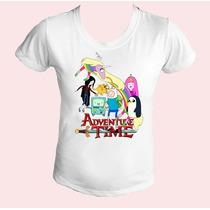 Camiseta Babylook Feminina Hora De Aventura 05