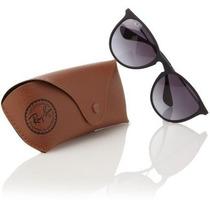 26bd2c236 Óculos Sol Feminino Masculino Preto Fosco Redondo Sem Veludo