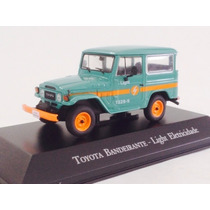 Miniatura De Toyota Bandeirante Light Eletricidade 1:43 Ixo