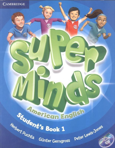Super Minds American English 1 Sb With Dvd-rom - 1st Ed