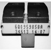 Botão Interruptor Do Vidro Elétrico Duplo Polo Hatch/sedam