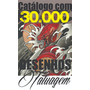 Catálogo Com 30.000 Desenhos Tatuagens  Tattoo Imagens
