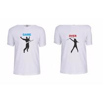 Kit Camiseta Dia Dos Namorados 2 Unidades Promoção