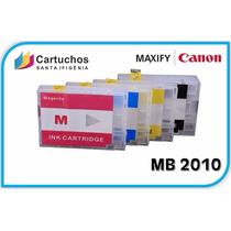 Cartucho Recarregável Canon Maxify Mb2010 + 400ml De Tinta