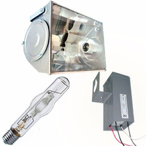 Refletor + Reator + Lampada Hqi Vapor Metalico 400w