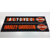 Kit Bar Mat 2 Tapetes Harley-davidson / Vodka / Whisky /moto