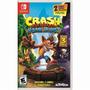 Crash Bandicoot N Sane Trilogy Nintendo Switch Mídia Física