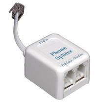 Filtro Adsl P/ Internet E Telefone - 2 Saídas