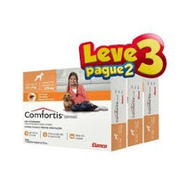 Combo Anti-pulgas Comfortis 4,5 A 9,0 Kg - Leve 3 Pague 2