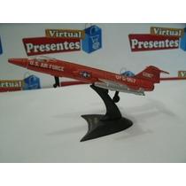 Avião F-104 Starfighter (para Colecionador) Miniatura