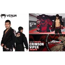 Kimono Venum Absolute 2.0 Crimson Bjj Black