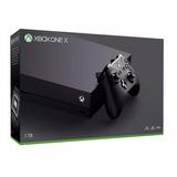 Xbox One X 1 Tb 4k O Console Mais Poderoso + Frete Grátis