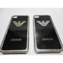 Capa Case Exclusivo Iphone 4 E 4/s - Empório Armani