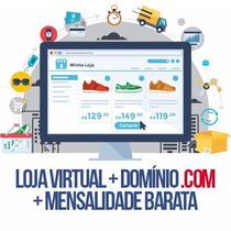 Ecommerce Loja Virtual Instalada Site .com Hospedagem 30 Dia