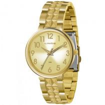 Relógio Lince Lrg4275l C2kx Feminino Dourado - Refinado