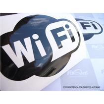 Adesivo Wifi Para Táxi - Aplicação Externa