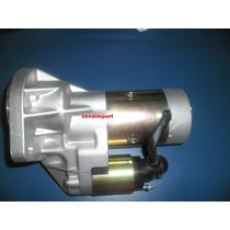 Motor Partida Arranque Nissan D21 Bloco Td27