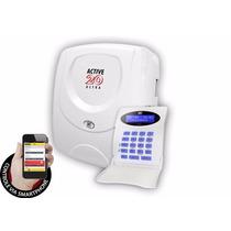 Central De Alarme Monitorada 22 Zonas Active 20 Ultra Jfl