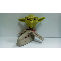 Nave Star Wars - Yoda - Boneco Antigo Do Mc Donalds
