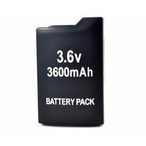 Bateria Recarregavel 3.6v 2400mah Sony Psp 2000 3000 Lithium