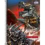 Caderno Espiral Tilibra Transformers 01 Matéria 96 Folhas