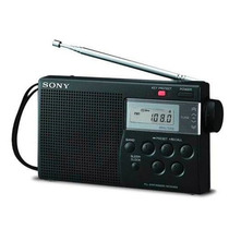 Radio Portátil Digital Sony Am/fm Icf-m260 Memória E Sleep