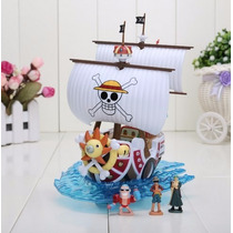 Miniatura One Piece - Barco Thousand Sunny - 15 Cm
