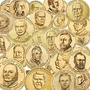 39 Moedas 1 Dolar Eua - Serie Presidentes - Completa Fc
