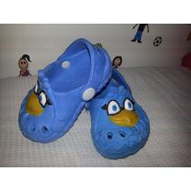 Sandália Infantil Babuche Galinha Pintadinha Azul