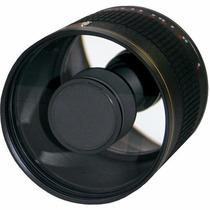 Lente Rokinon 500mm F/6.3 Mirror T-mount +pronta Entrega
