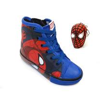 Tênis Diversão Homem Aranha (com Brinde) - Mm0040