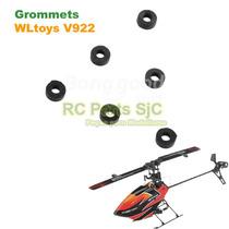 Borrachas Rotor (grommets) Peças Helicóptero Wltoys V922-13