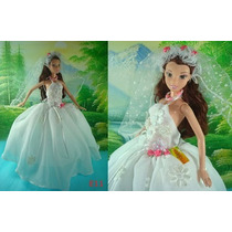 Vestido De Noiva Para Barbie