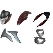 Carenagem Kit Completo Titan 150 Vermelho 2011/2012