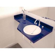 Lavatório Quartzo Azul Estrelar - (igual Silestone)