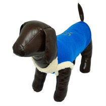 Roupinha Carapinha Soft Para Cães Cachorros Azul Tam 36