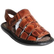 Sandália/masculina/couro/preço/fabrica/frete/grátis #60ge