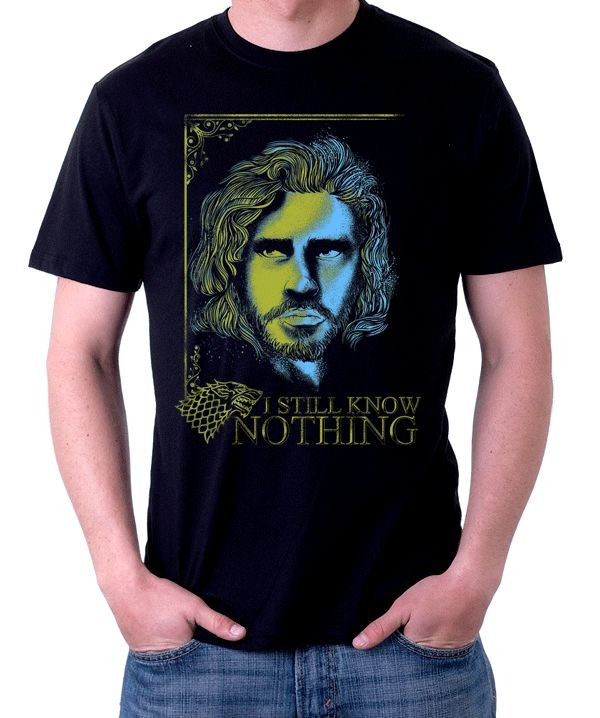 Camiseta Jon Snow Game of thrones