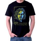 Camiseta Jon Snow Game of thrones