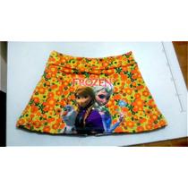 Kit C/ 6 Shorts Saia Infantis Sublimados Atacado